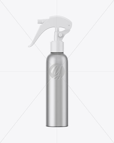 Download Matte Trigger Spray Bottle Mockup PSD - Free PSD Mockup Templates
