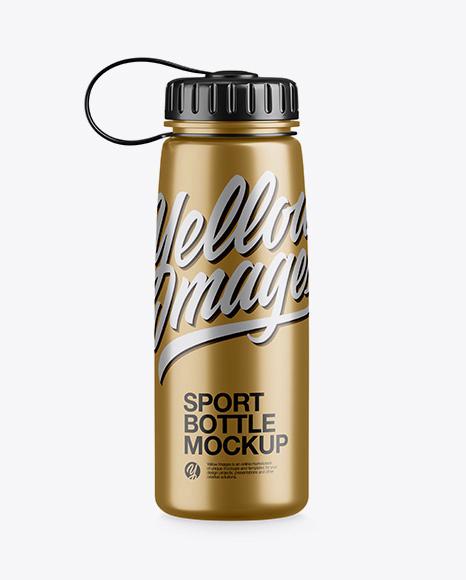 Download Metallic Sport Bottle Mockup Object Mockups