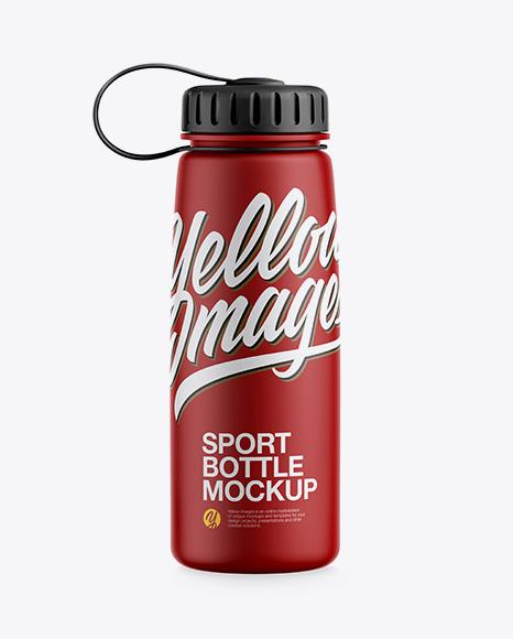 Download Matte Sport Bottle Mockup Object Mockups