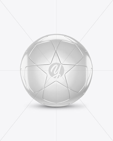 Glossy Soccer Ball Mockup