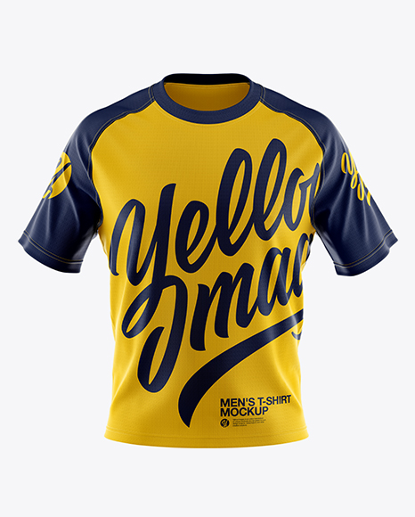 Men's T-shirt Mockup - Front View