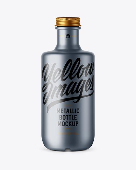 Download Matte Metallic Bottle Mockup Object Mockups