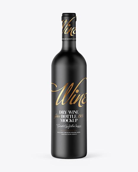 Download Ceramic Wine Bottle Mockup Object Mockups