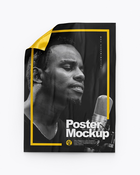A1 Poster Mockup