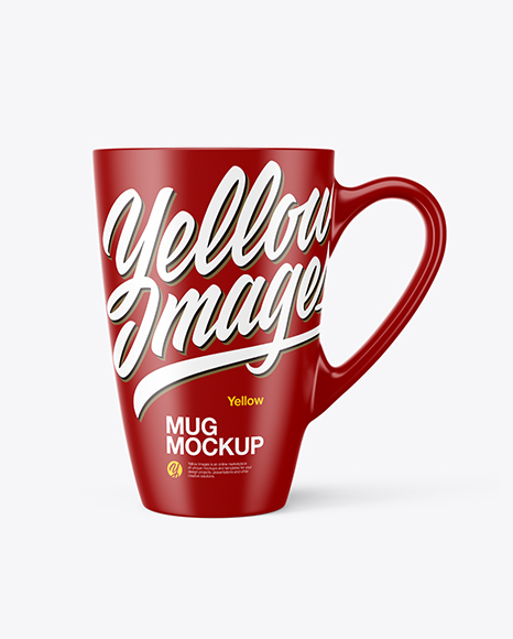 Download Free Matte Mug Mockup PSD Template