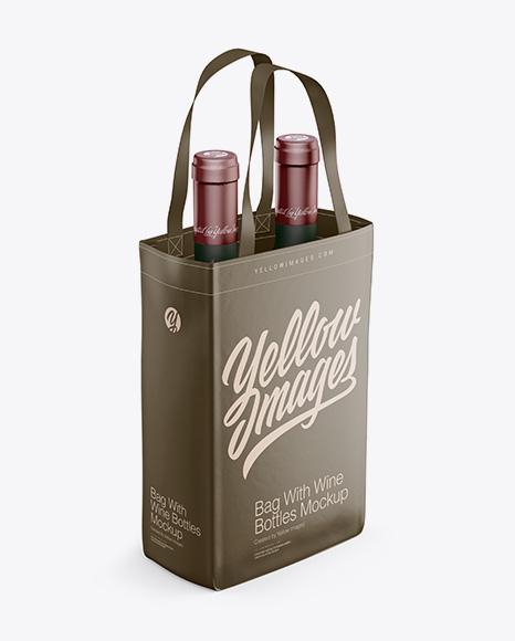 Download Wine Bottle Mockup Psd Free Download PSD - Free PSD Mockup Templates