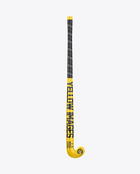 Matte Field Hockey Stick - Front & Back Views