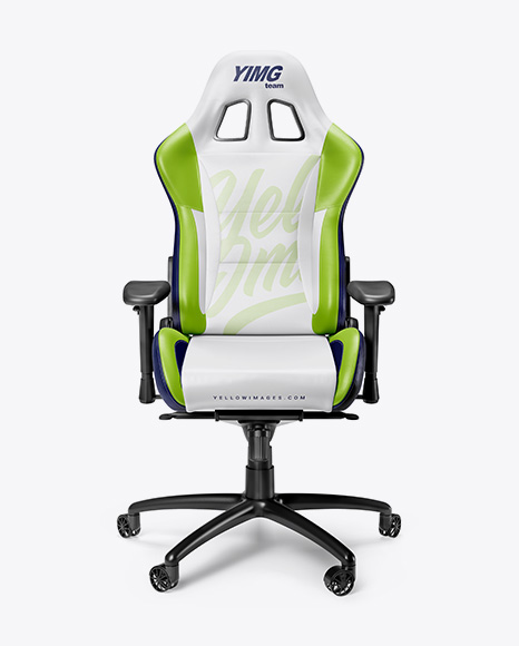 Enjoyable Download Gaming Chair Mockup Front View Object Mockups Alphanode Cool Chair Designs And Ideas Alphanodeonline