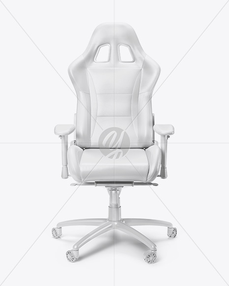 Superb Gaming Chair Mockup Front View In Object Mockups On Alphanode Cool Chair Designs And Ideas Alphanodeonline