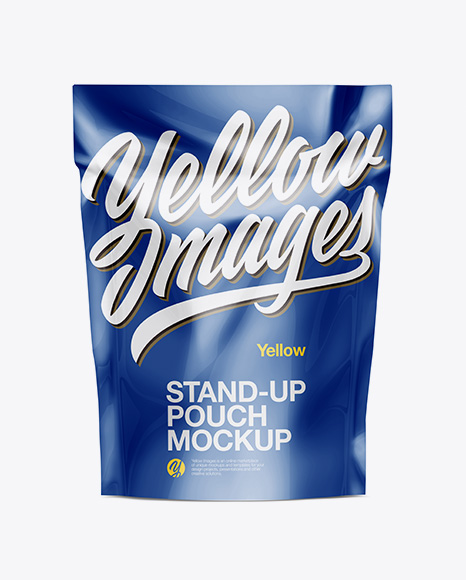 Download Free Stand Up Pouch Mockup - Front View PSD Template