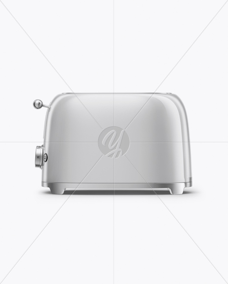 Download Toaster Mockup - Front View Free Mockups