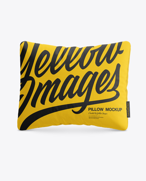 Download Rectangular Pillow Mockup Object Mockups