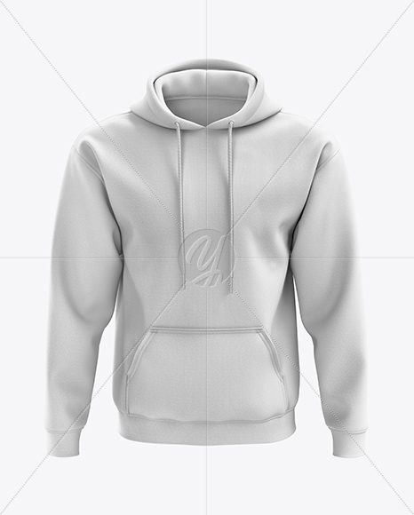Men's Heavy Blend Hoodie mockup (Front View)