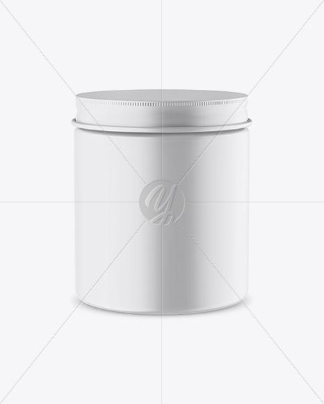 Matte Jar Mockup - High-Angle Shot