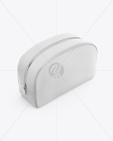 Download Cosmetic Bag Mockup Top View Yellowimages