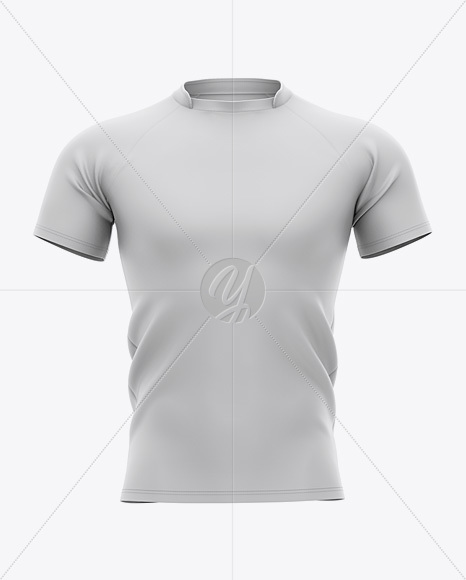 Men's Football Jersey Mockup - Front View