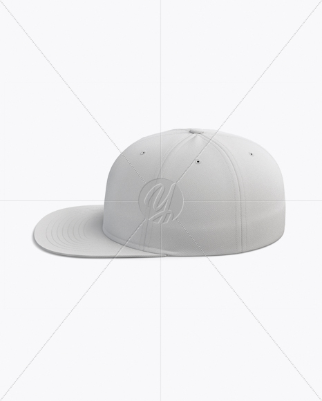 Flex Cap mockup (Side View)