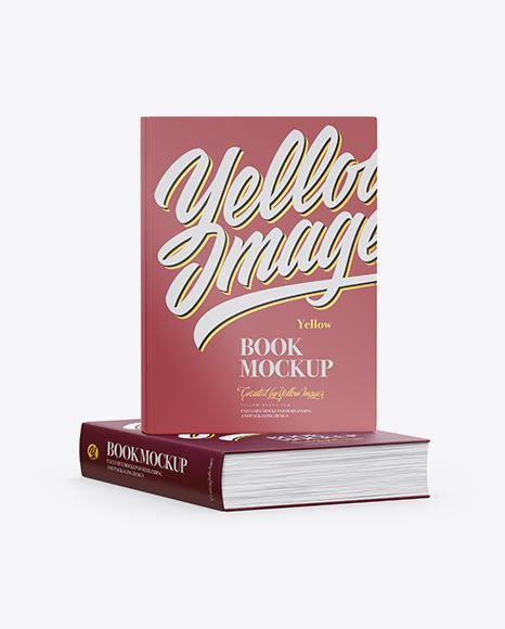 Download Matte Covered Books Mockup Object Mockups
