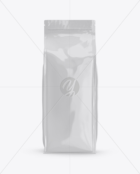 Download Kraft Coffee Bag Mockup Half Side View In Bag Sack Mockups On Yellow Images Object Mockups Yellowimages Mockups