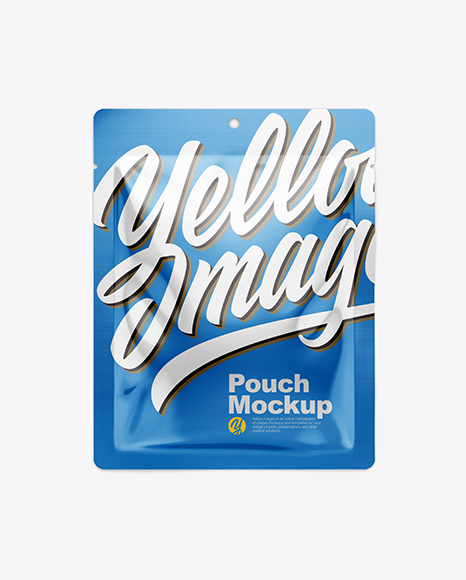 Download Glossy Pouch Mockup Object Mockups