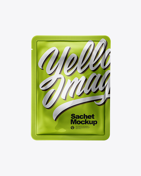 Download Metallic Sachet Mockup Object Mockups