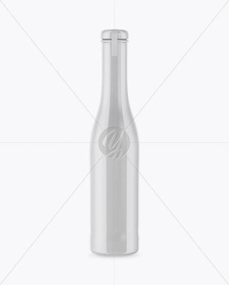 Glossy Ceramic Drink Bottle Mockup In Bottle Mockups On Yellow
