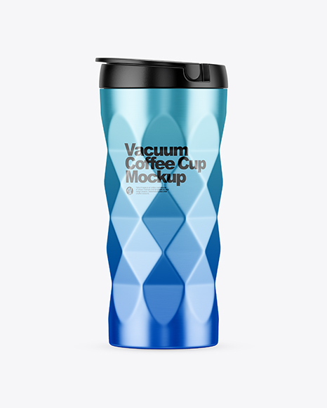 Download 420ml Matte Stainless Steel Vacuum Coffee Cup Mockup Object Mockups