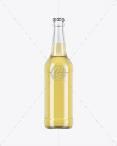 Download Clear Glass Cider Bottle Mockup In Bottle Mockups On Yellow Images Object Mockups Yellowimages Mockups