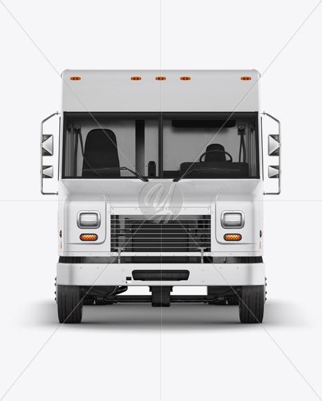 Download Food Truck Mockup - Front View Free Mockups