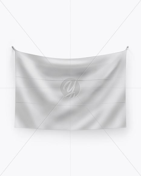 Download Flag Mockup - Front View Free Mockups