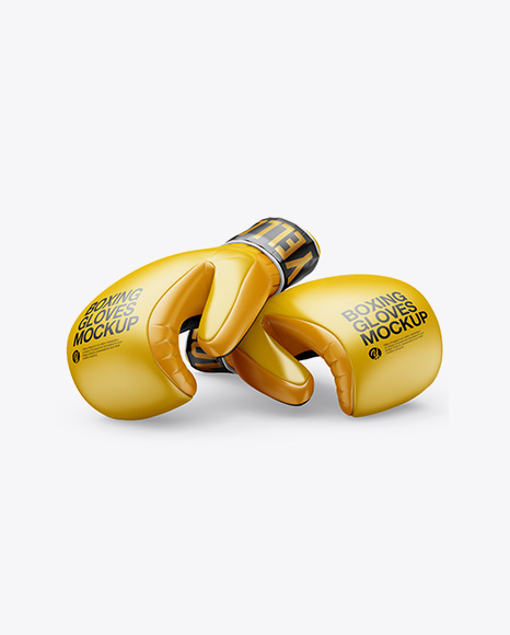 Download Two Boxing Gloves Mockup Object Mockups