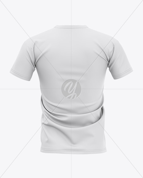 Men's Football Jersey Mockup - Back View