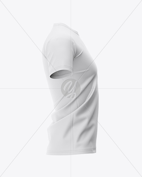 Men's Football Jersey Mockup - Side View