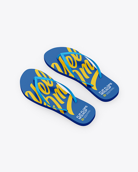 Download Flip Flop Mockup Psd Free Yellowimages