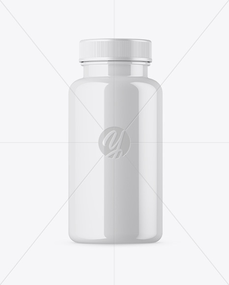 Download Glossy Pills Bottle Mockup In Bottle Mockups On Yellow Images Object Mockups PSD Mockup Templates