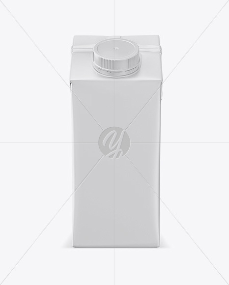200ml Carton Box Mockup - Front View