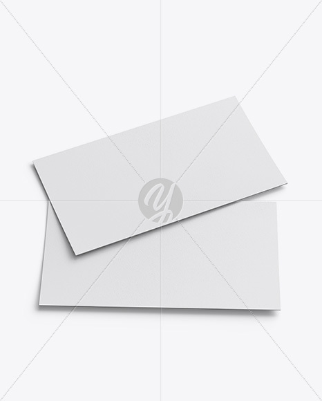 Download Two Textured Flyers Mockup Free Mockups