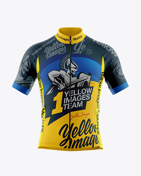 Download Mens Cycling Vest Mockup Front View Yellowimages