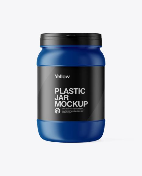 Download Free Matte Jar Mockup PSD Template