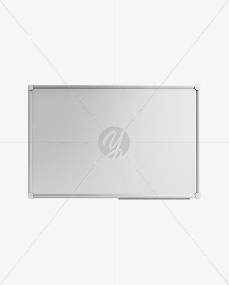 Metallic Whiteboard Mockup