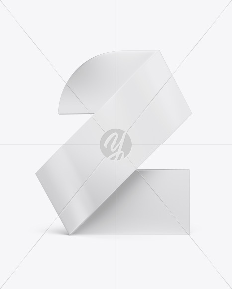 Download Digit Two Art Object Mockup Free Mockups