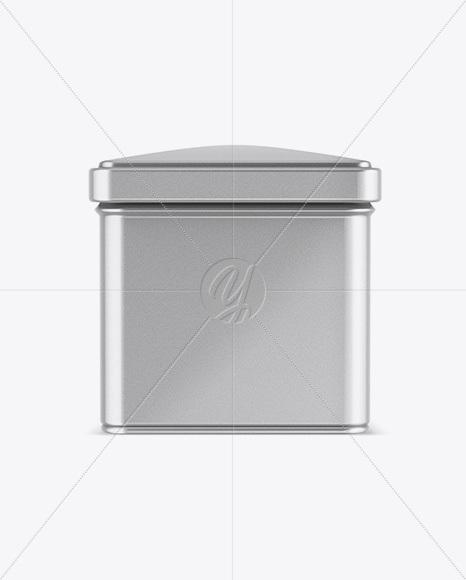 Download Glossy Octagonal Tin Box Mockup High Angle Shot PSD - Free PSD Mockup Templates