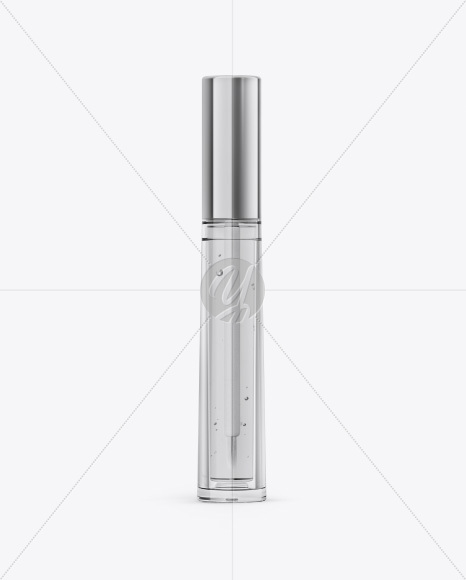 Cosmetic Bottle Mockup - Front View