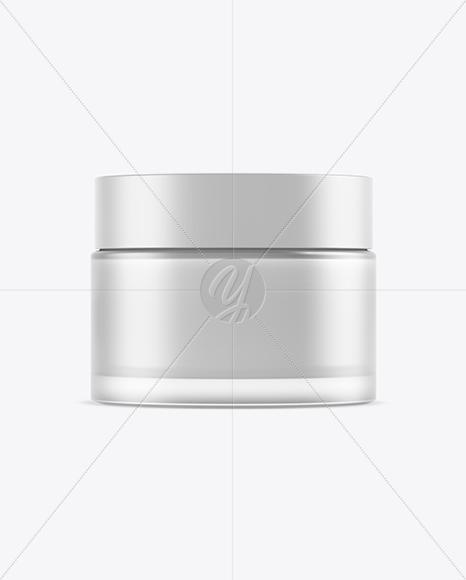 50ml Cosmetic Jar Mockup