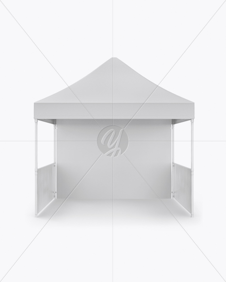 Display Tent Mockup - Front View