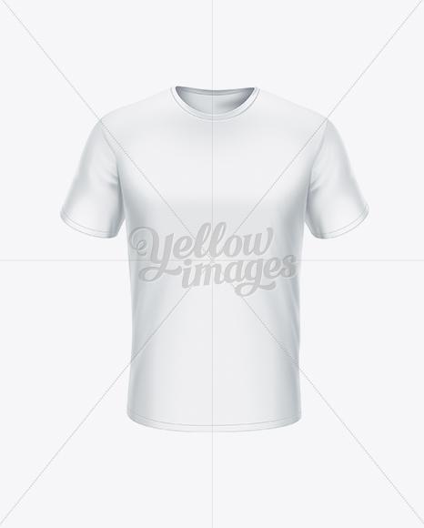 Download Men's T-Shirt Front View Jersey Mockups
