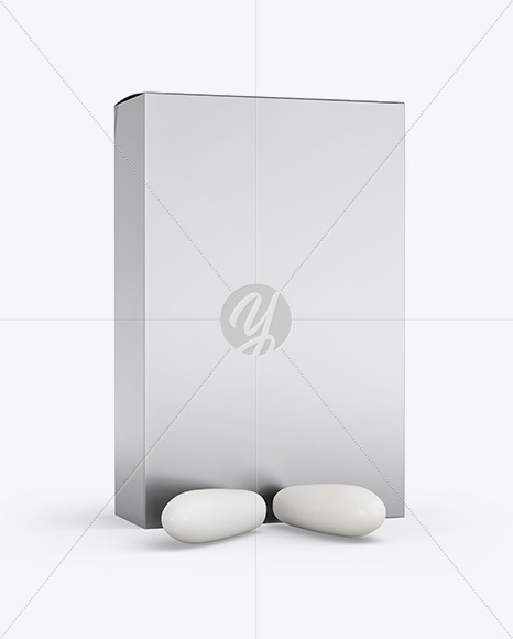 Download Matte Box With Suppositories Mockup Half Side View PSD - Free PSD Mockup Templates