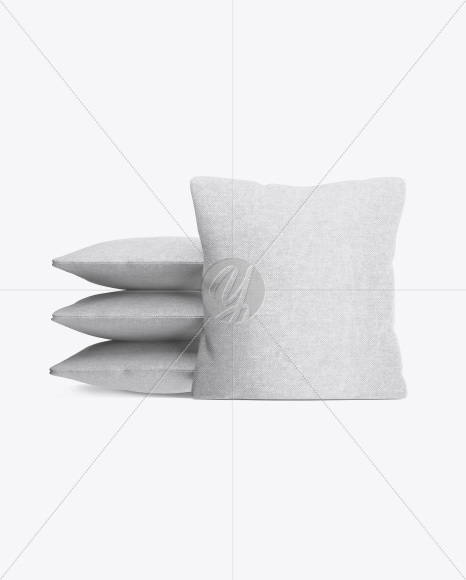 Pillows Mockup - Front View