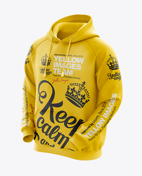 Download Mens Hoodie Mockup Yellow Images