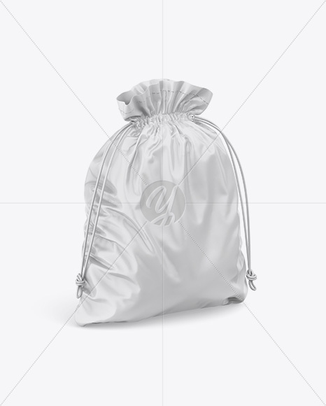 Download Gym Sack Mockup Back View Yellow Images